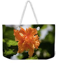 Allan Gardens Orange Weekender Tote Bag