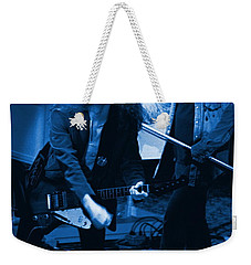 Allen Collins And Ronnie Van Zant Same Old Winterland Blues Weekender Tote Bag