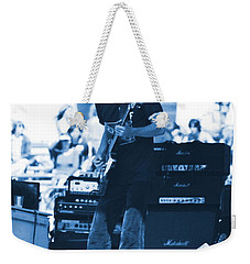 Allen Collins In Blue Oakland 1975 Weekender Tote Bag