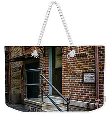 Alley Entry Weekender Tote Bag