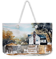 Alley Fences Weekender Tote Bag