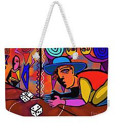 Alley Game Weekender Tote Bag