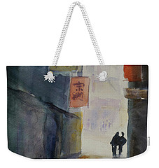 Alley In Chinatown Weekender Tote Bag by Tom Simmons