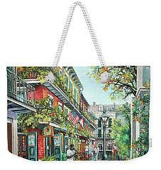 Alley Jazz Weekender Tote Bag