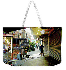 Alley Market End Of Day Weekender Tote Bag