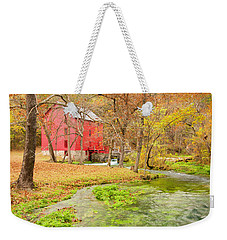 Alley Spring Weekender Tote Bag