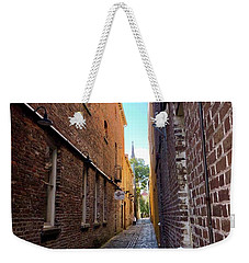 Alleyway Weekender Tote Bag