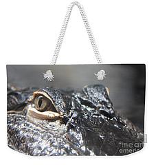 Alligator Eye Weekender Tote Bag