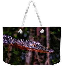 Alligator Waiting 003 Weekender Tote Bag