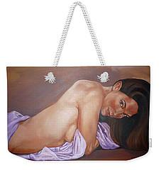 Allison Weekender Tote Bag by Bryan Bustard