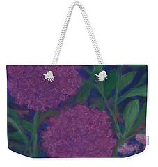 Allium And Geranium Weekender Tote Bag