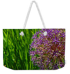 Allium Explosion Weekender Tote Bag