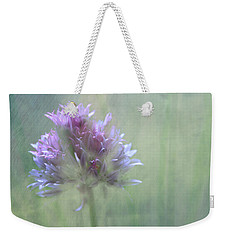Allium Impressionism Weekender Tote Bag by Catherine Alfidi