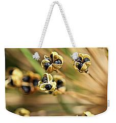 Allium Seed 2 Weekender Tote Bag by Jimmy Ostgard