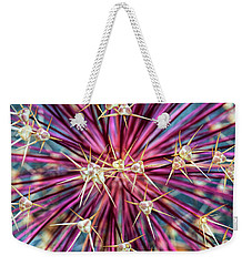Allium Stars Weekender Tote Bag