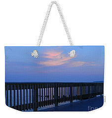 Alls Quiet On The Beach Front Weekender Tote Bag