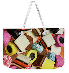 Allsorts Sweets Weekender Tote Bag by David French
