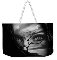 Allure Of Arabia Black Weekender Tote Bag