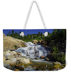 Alluvial Sands Water Fall Weekender Tote Bag