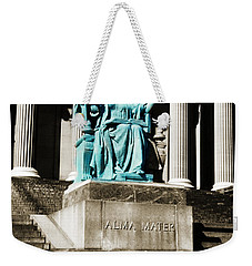 Alma Mater Weekender Tote Bag by Marilyn Hunt