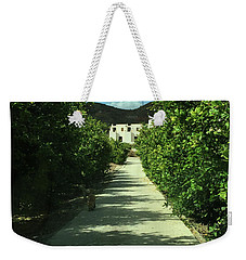 Almeria Mountain Road Spain Weekender Tote Bag by Colette V Hera Guggenheim