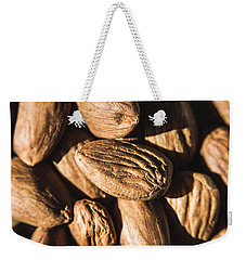 Weekender Tote Bag featuring the photograph Almond Nuts by Jorgo Photography - Wall Art Gallery