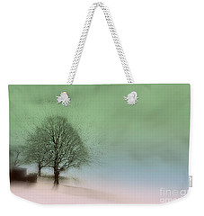 Weekender Tote Bag featuring the photograph Almost A Dream - Winter In Switzerland by Susanne Van Hulst