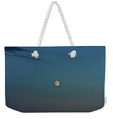 Almost Full Moon Weekender Tote Bag