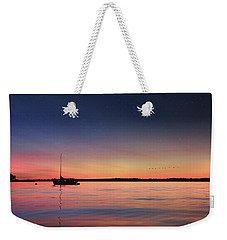 Weekender Tote Bag featuring the photograph Almost Paradise by Lori Deiter
