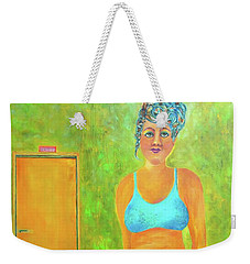 Art Something To Talk About Weekender Tote Bag
