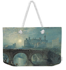 Alnwick Castle Weekender Tote Bag by Joseph Mallord William Turner
