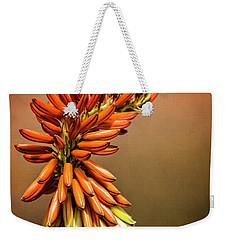 Weekender Tote Bag featuring the photograph Aloe Vera Twist  by Saija Lehtonen