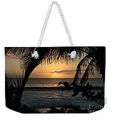 Aloha Aina The Beloved Land - Sunset Kamaole Beach Kihei Maui Hawaii Weekender Tote Bag