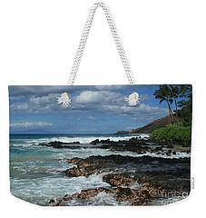 Aloha Island Dreams Paako Beach Makena Secret Cove Hawaii Weekender Tote Bag