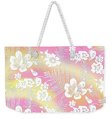 Aloha Lace Passion Guava Sorbet Weekender Tote Bag