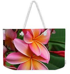 Aloha Lei Pua Melia Keanae Weekender Tote Bag