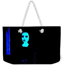 Weekender Tote Bag featuring the painting Alone by Bill OConnor