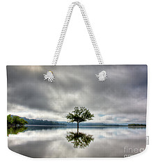 Weekender Tote Bag featuring the photograph Alone by Douglas Stucky