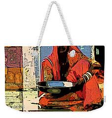 Alone In Color Weekender Tote Bag