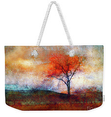 Alone In Colour Weekender Tote Bag by Tara Turner