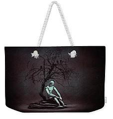 Alone In The Dark Weekender Tote Bag by Tom Mc Nemar