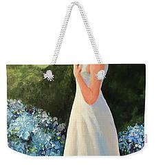 Alone In The Garden Weekender Tote Bag