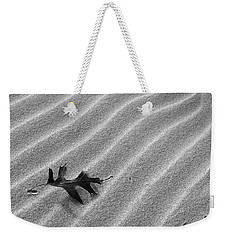 Weekender Tote Bag featuring the photograph Alone by Kathi Mirto