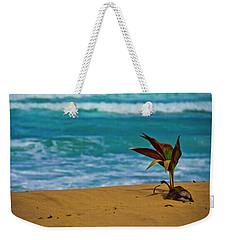 Alone On The Beach Weekender Tote Bag