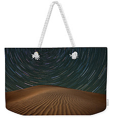 Weekender Tote Bag featuring the photograph Alone On The Dunes by Darren White