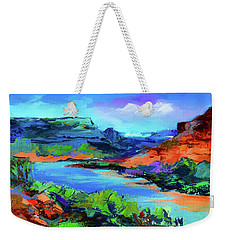 Along Colorado River - Utah Weekender Tote Bag