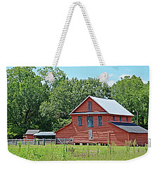 Weekender Tote Bag featuring the photograph Along Highway 403 by Linda Brown