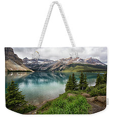 Along Icefields Parkway Weekender Tote Bag