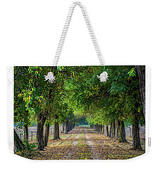 Along Lyons Road Weekender Tote Bag