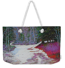 Along The 103  Weekender Tote Bag by Rae  Smith PAC